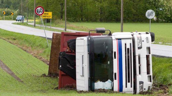 Wypadek samochodowy we Francji